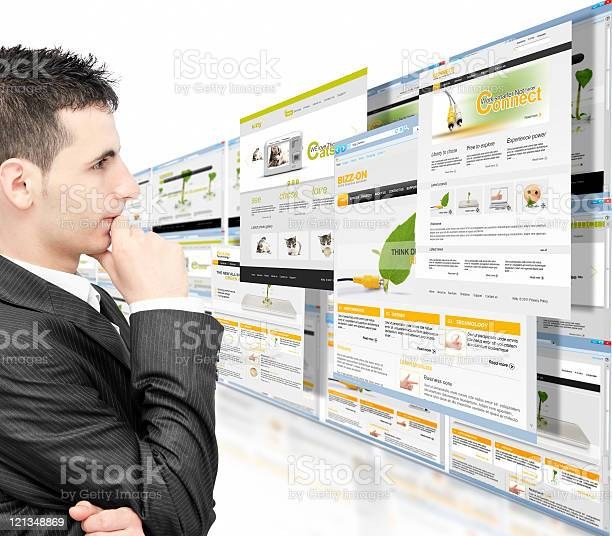 Online Business Stock Photo - Download Image Now