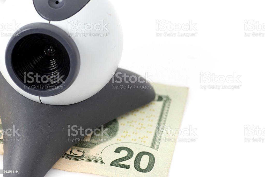 Cassa Online foto stock royalty-free