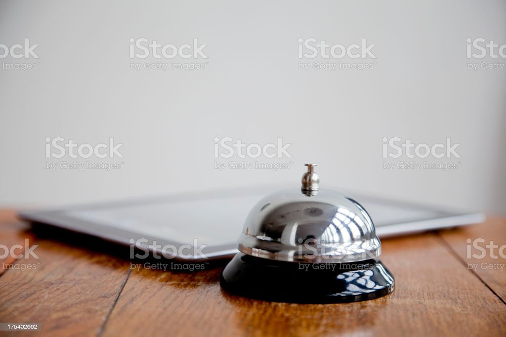 Online check in royalty-free stock photo