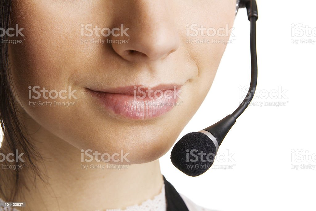 Online conversation royalty-free stock photo