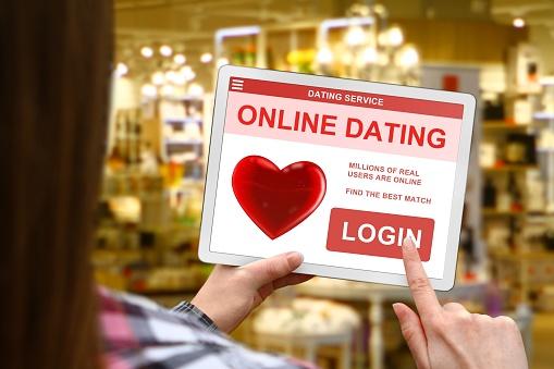 an online dating website