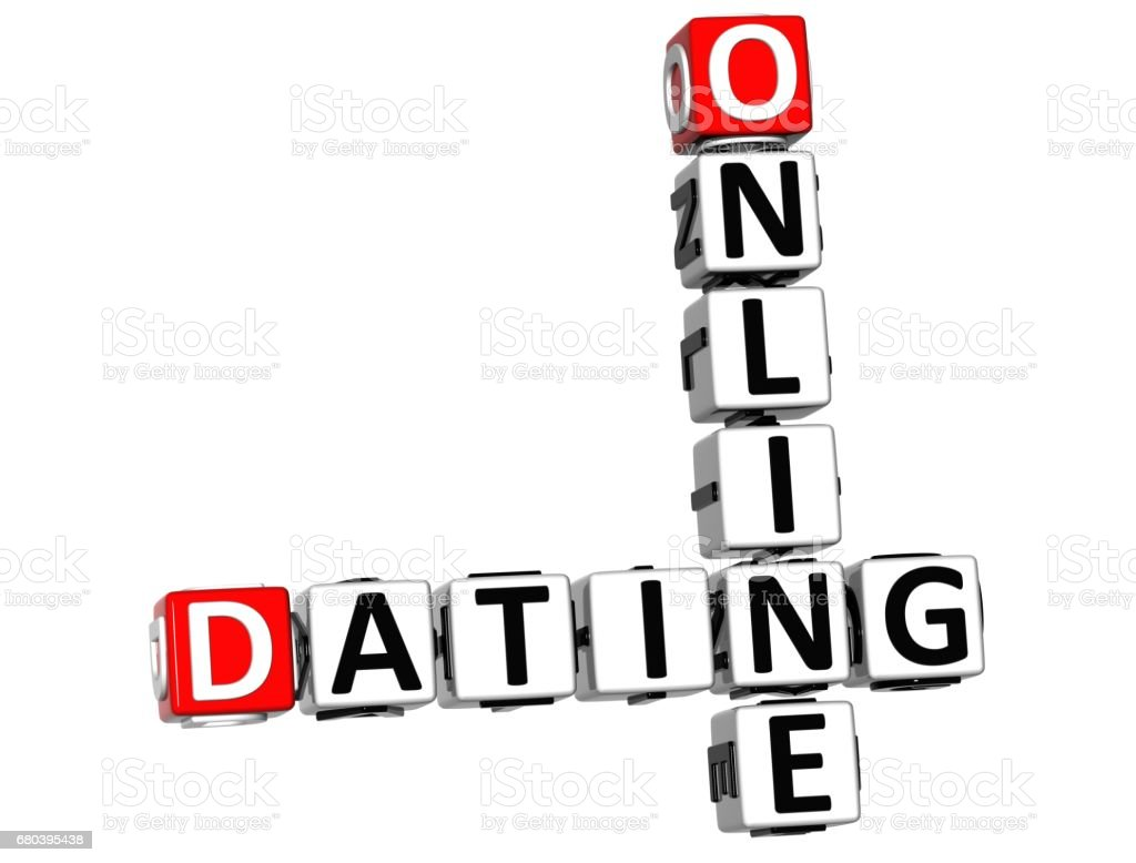 Online dating site crossword