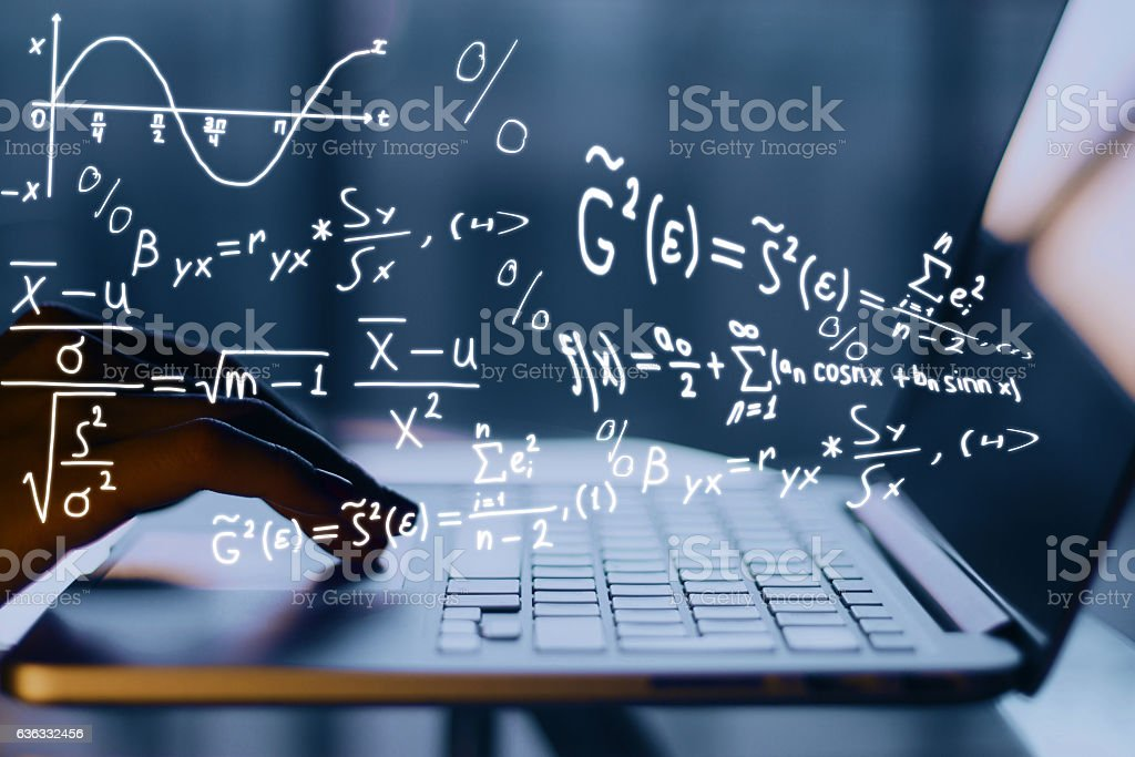 Online education concept stock photo