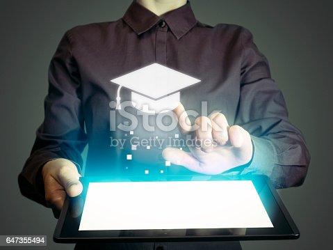 istock Online education 647355494