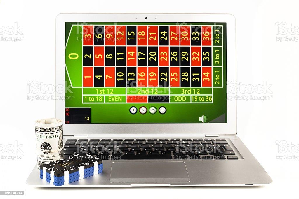 Online Gamble royalty-free stock photo