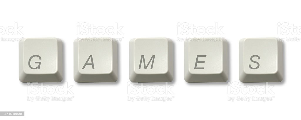 Online Games royalty-free stock photo
