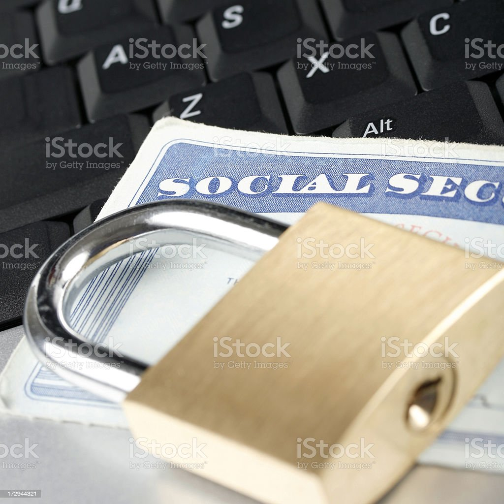 Online Identity Protection royalty-free stock photo
