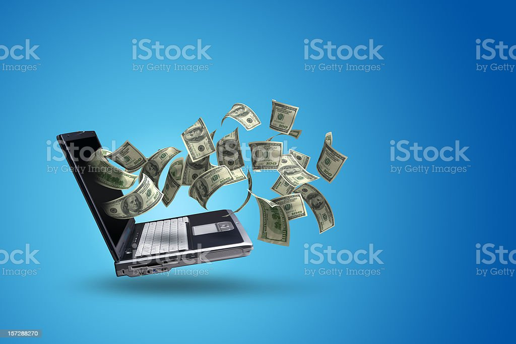 Online Income (XXL) royalty-free stock photo