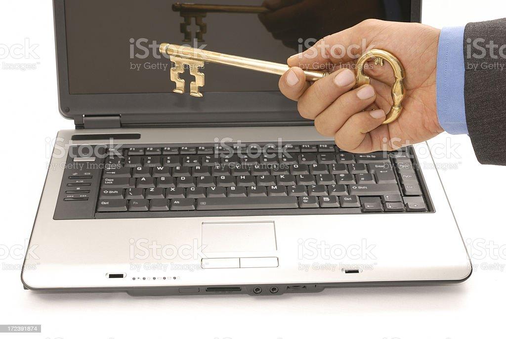 online key royalty-free stock photo
