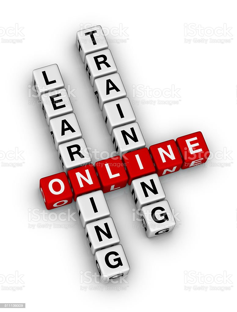 online learning stock photo