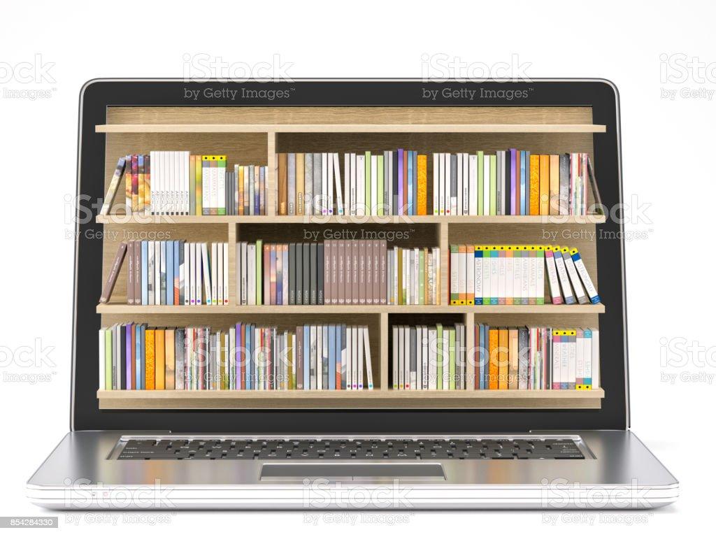 Online-Bibliothek – Foto