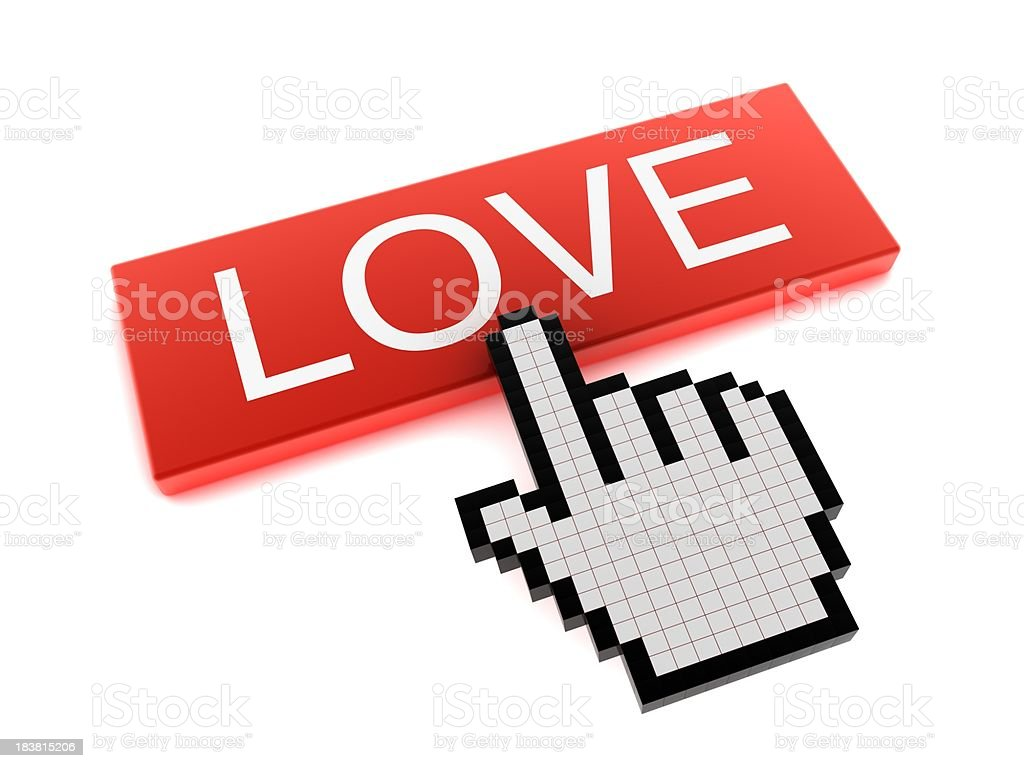 Online Love royalty-free stock photo