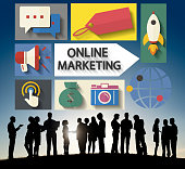 istock Online Marketing Branding Global Communication Analysing Concept 480048654