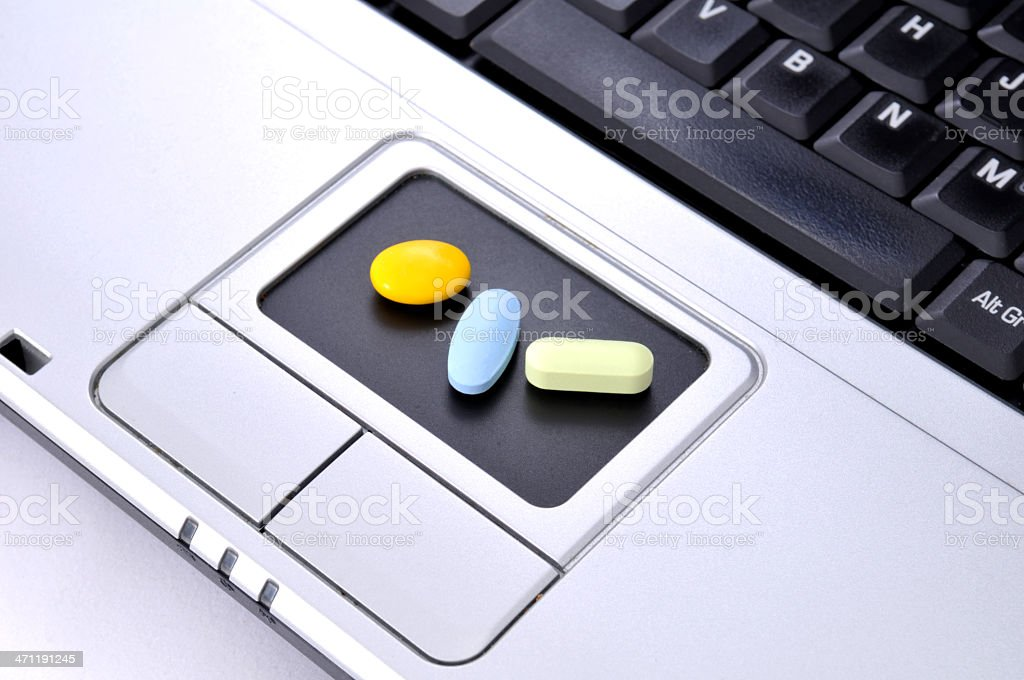 online medicine stock photo