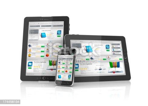 istock online multi platform Application Store 174458134