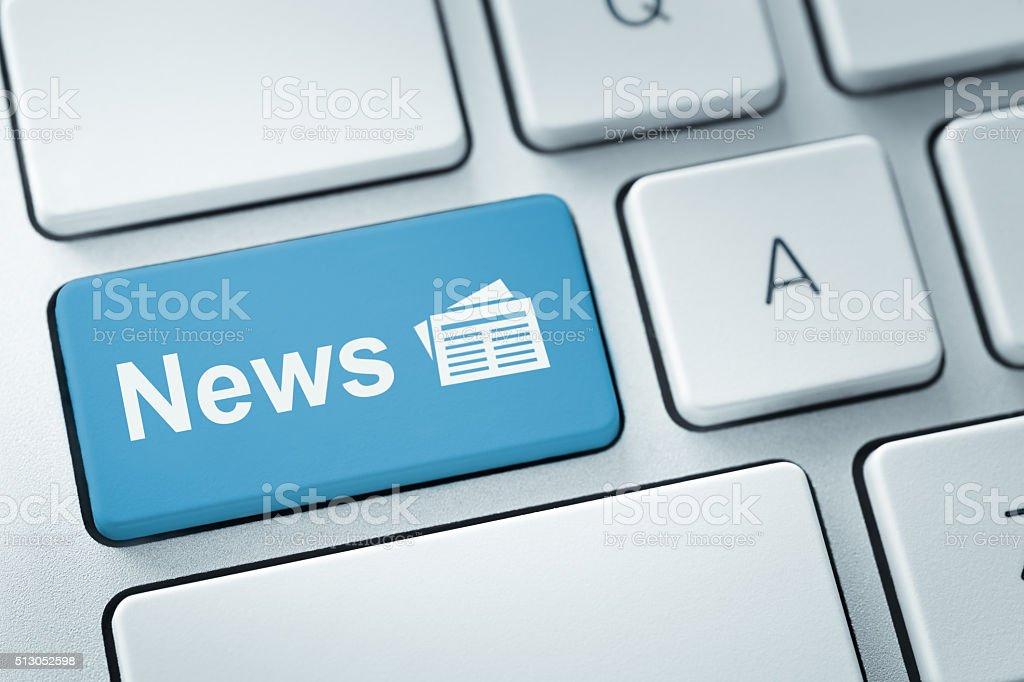 Noticias en línea - foto de stock