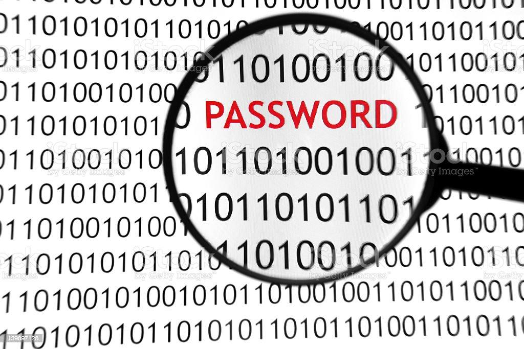 Online Password royalty-free stock photo