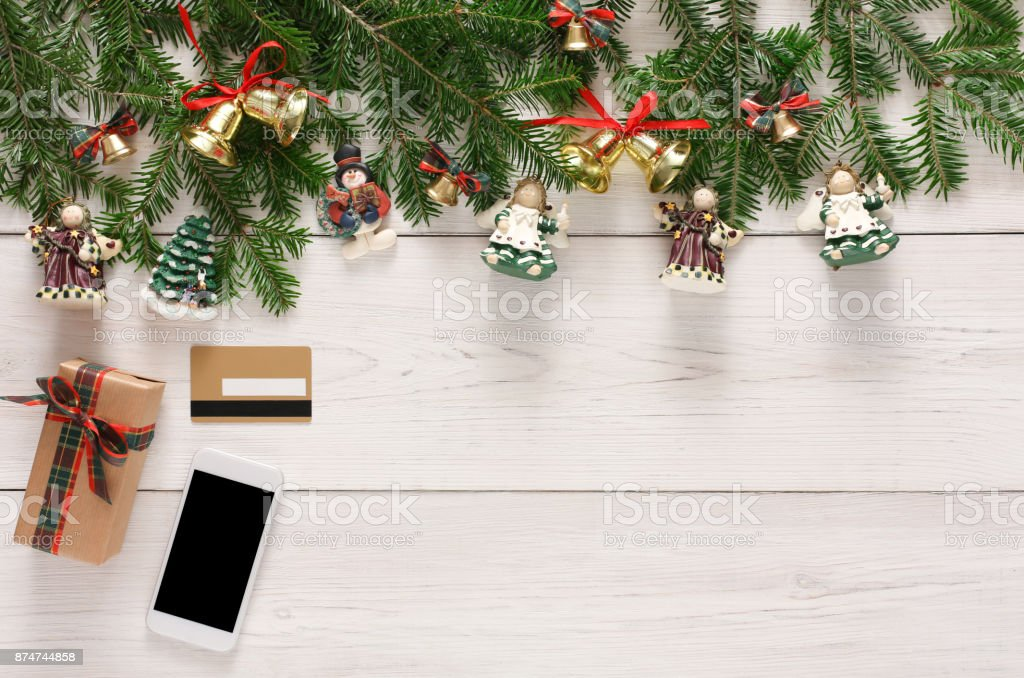 online paying for christmas decorations background royalty free stock photo - Christmas Decorations Online