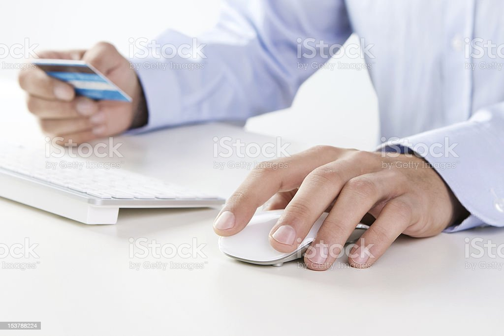 Online payment royalty-free stock photo