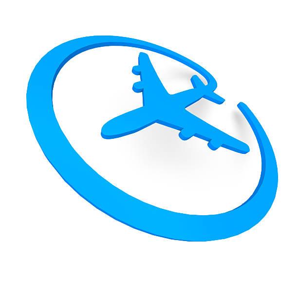 Online-Flugzeug – Foto