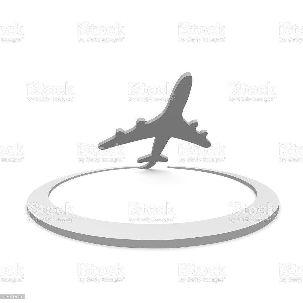 Avion en ligne - Photo