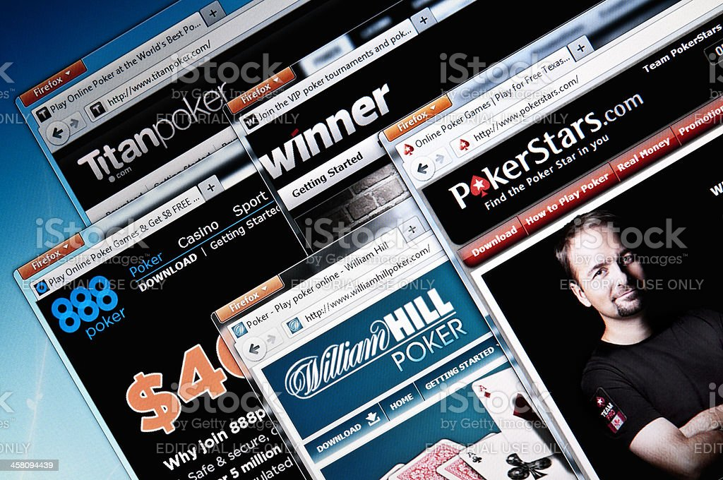 Online poker room web sites