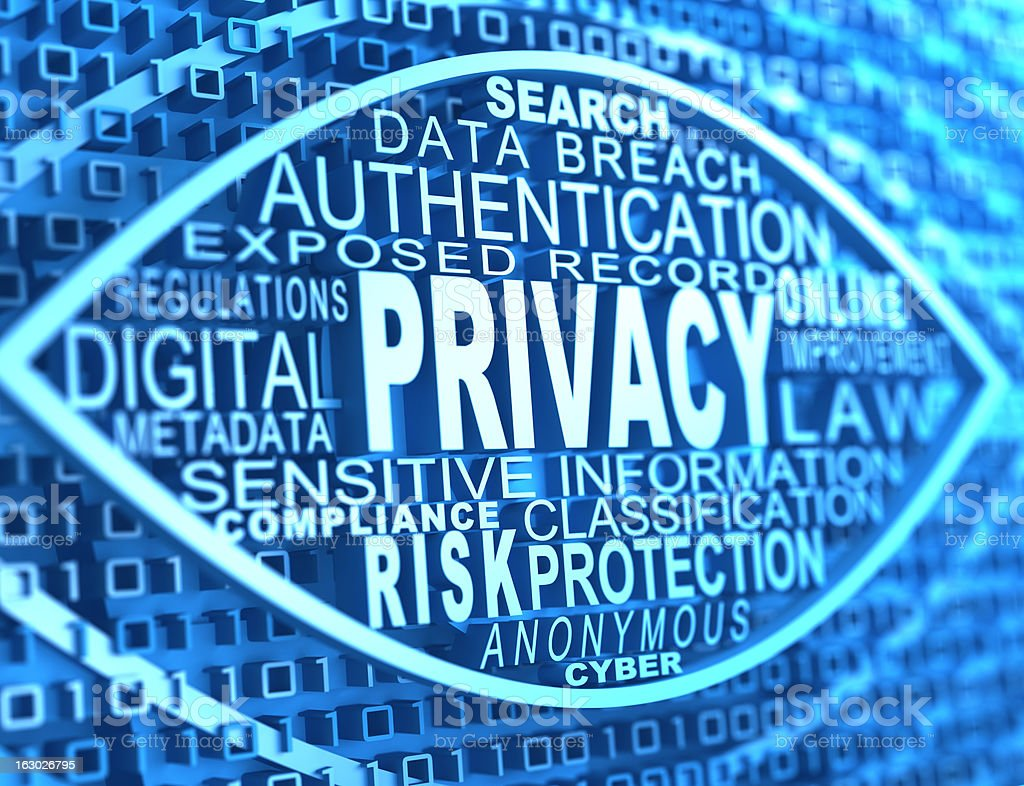 online privacy royalty-free stock photo
