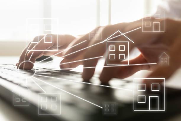 Online-Immobilienkonzept – Foto