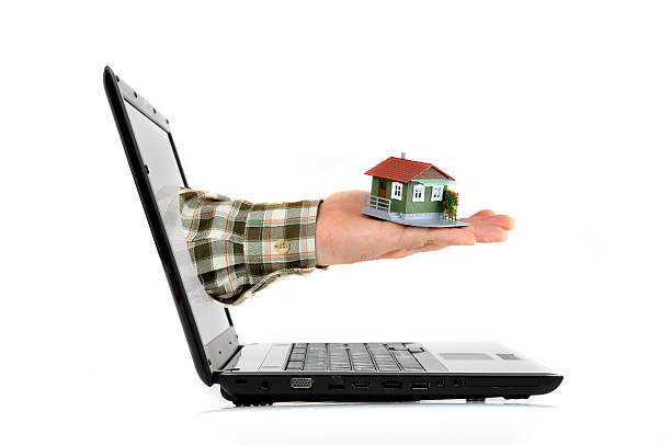 Online Real Estate Concept stock photo