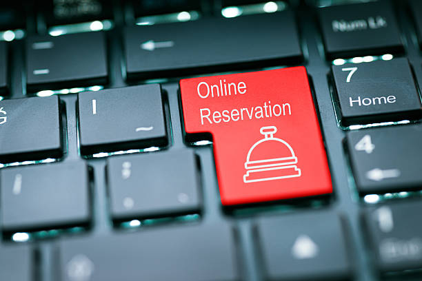 online reservation enter key - native american reservation stock photos and pictures