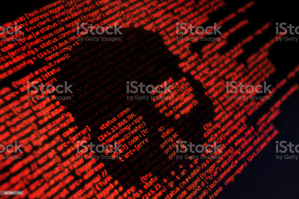Online safety and security stock photo