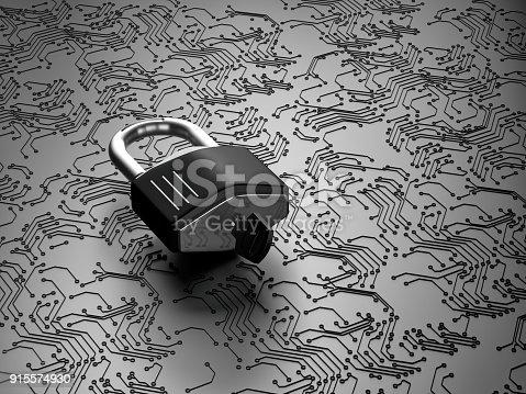 istock Online security concept 915574930