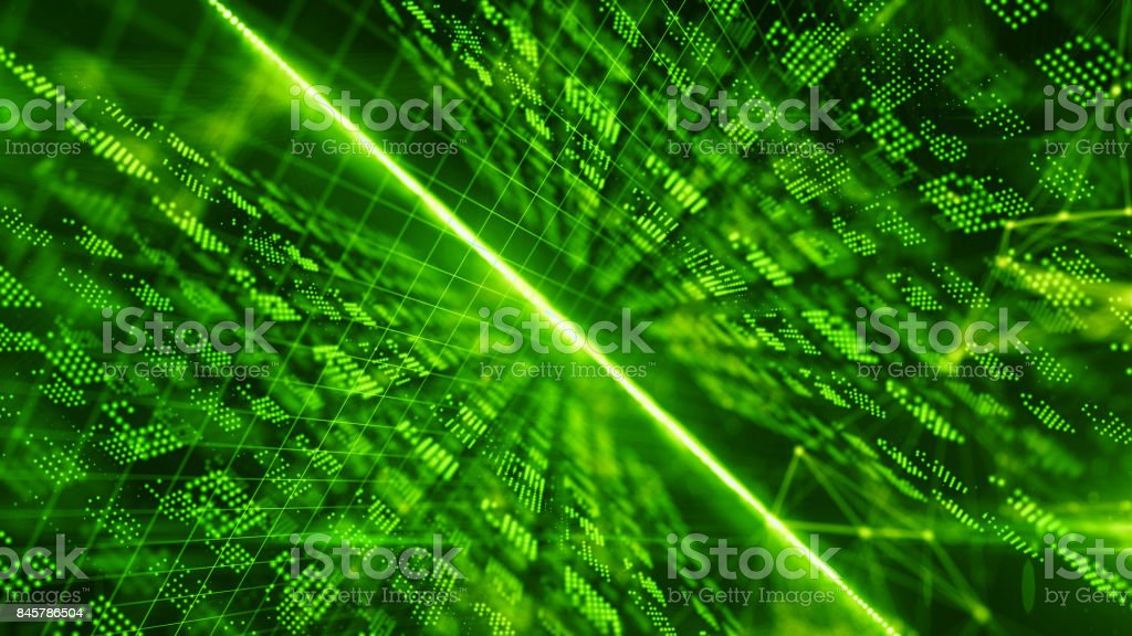 Online security from virus attack over encrypted digital data global networks stock photo