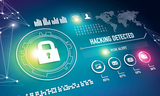Online Security Technology stock photo