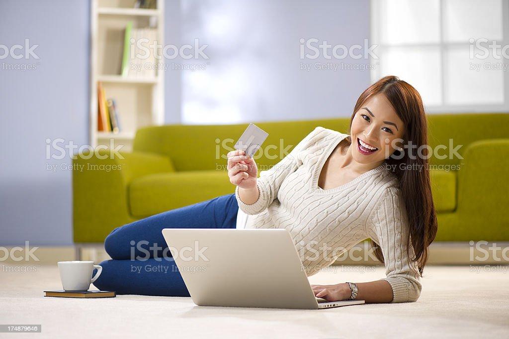online shopper royalty-free stock photo