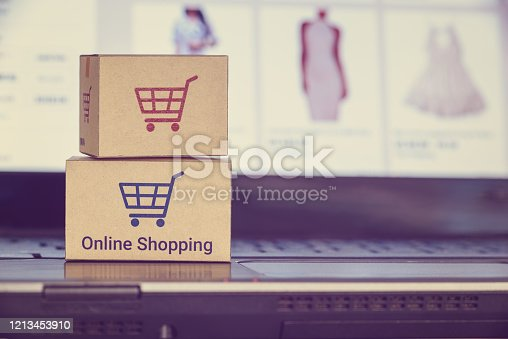 868776578 istock photo Online shopping and e-commerce concept 1213453910
