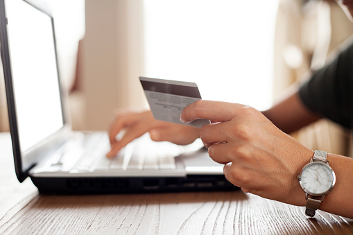 831899586 istock photo Online shopping and payment concept 1156806394