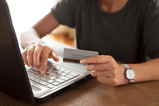 831899586 istock photo Online shopping and payment concept 1156806978