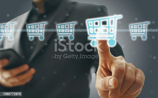 istock Online shopping concept 1065772970