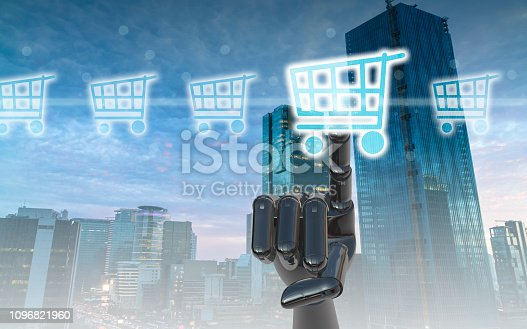 istock Online shopping concept 1096821960