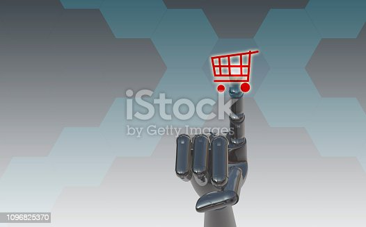 istock Online shopping concept 1096825370