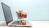 istock Online shopping concept 1135609382