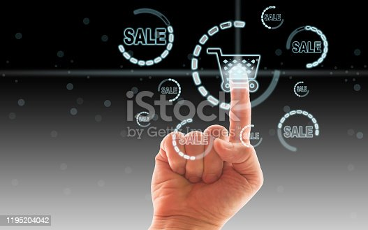 629776586 istock photo Online shopping concept 1195204042
