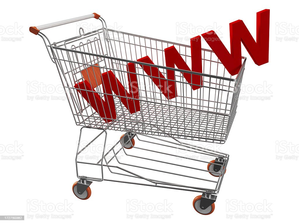 Online Shopping Concept royalty-free stock photo