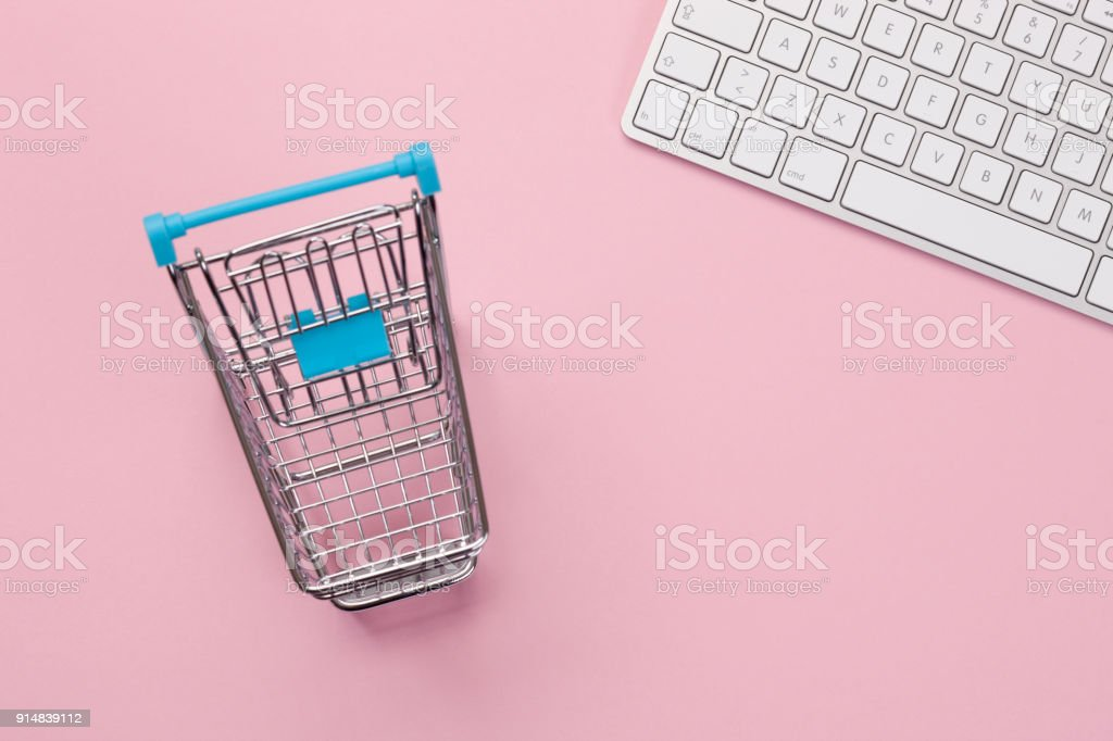 Online Shopping - Concept stock photo