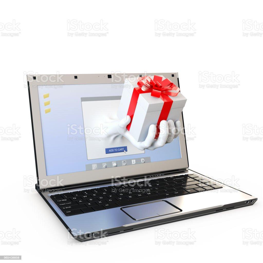 online shopping concept zbiór zdjęć royalty-free