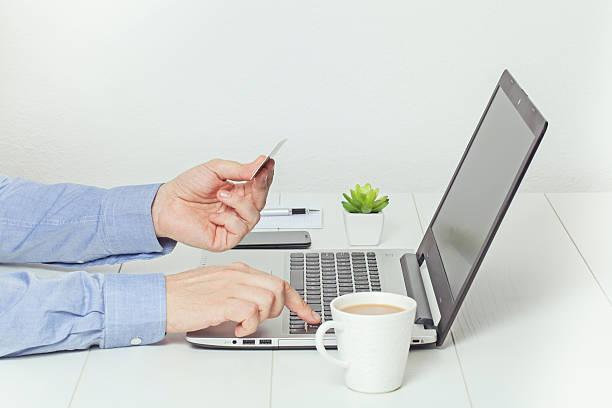 online ein. Onlinebanking Konzept. – Foto