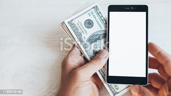 istock online shopping mobile app smartphone bucks 1185978195