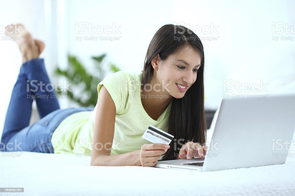 Online shopping. royalty-free stock photo