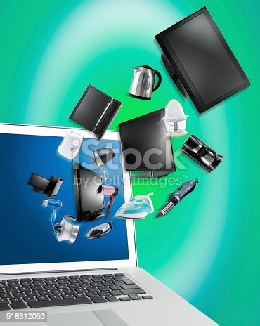 istock Online Shopping 516312053